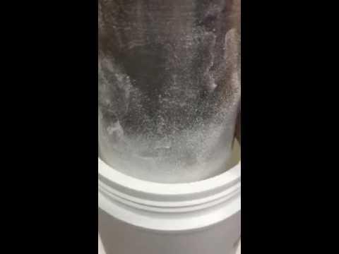 Test low bulk density
