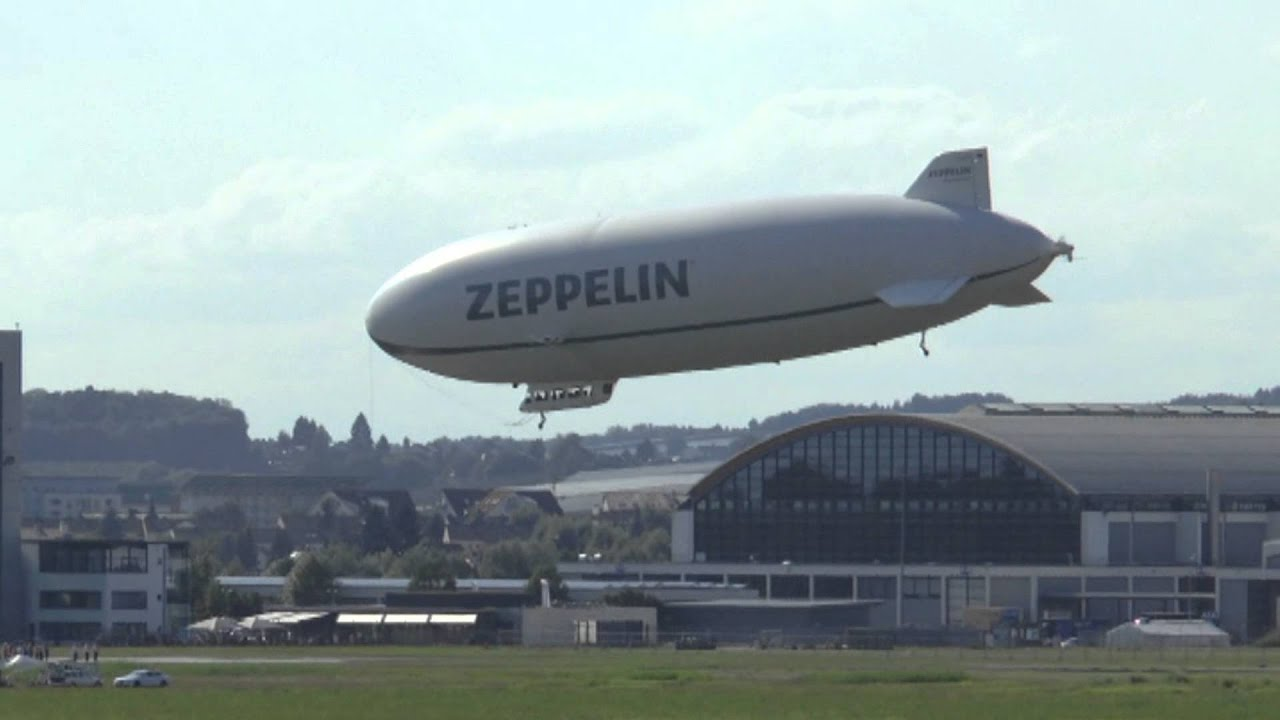 Zeppelin flug friedrichshafen