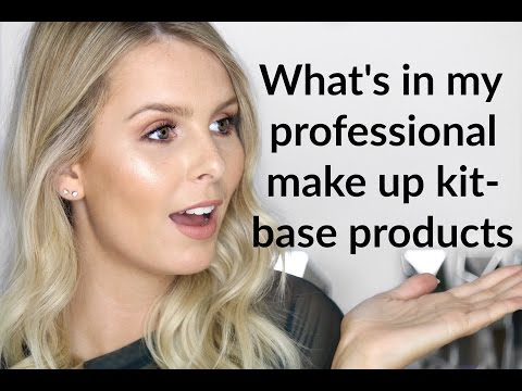WHAT'S IN MY PROFESSIONAL MAKE UP KIT | PRIMERS, FOUNDATIONS, CONCEALERS & POWDERS | RACHAEL BROOK