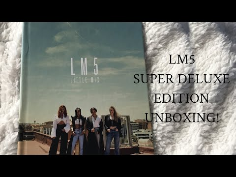 LM5-Little Mix (Super Deluxe Edition) CD Unboxing