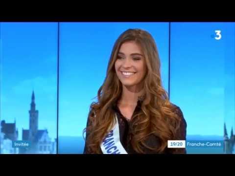 Miss Franche-Comté 2018 : les impressions de Lauralyne Demesmay