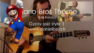 Super Mario Bros theme (Gypsy Jazz Guitar)