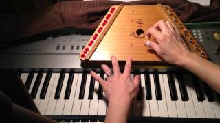 Beginning how to play plucked psaltery/lap harp