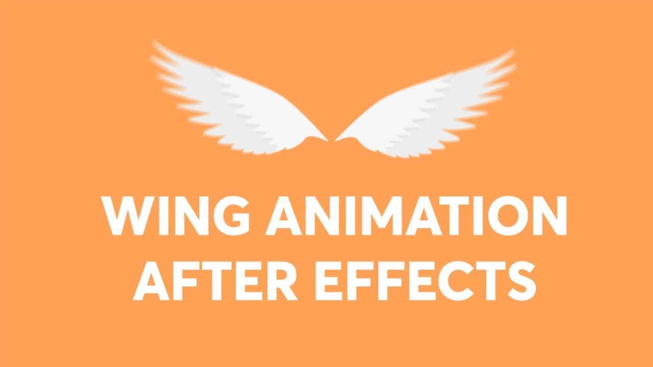 2D Wing Animation with After Effects Tutorial
