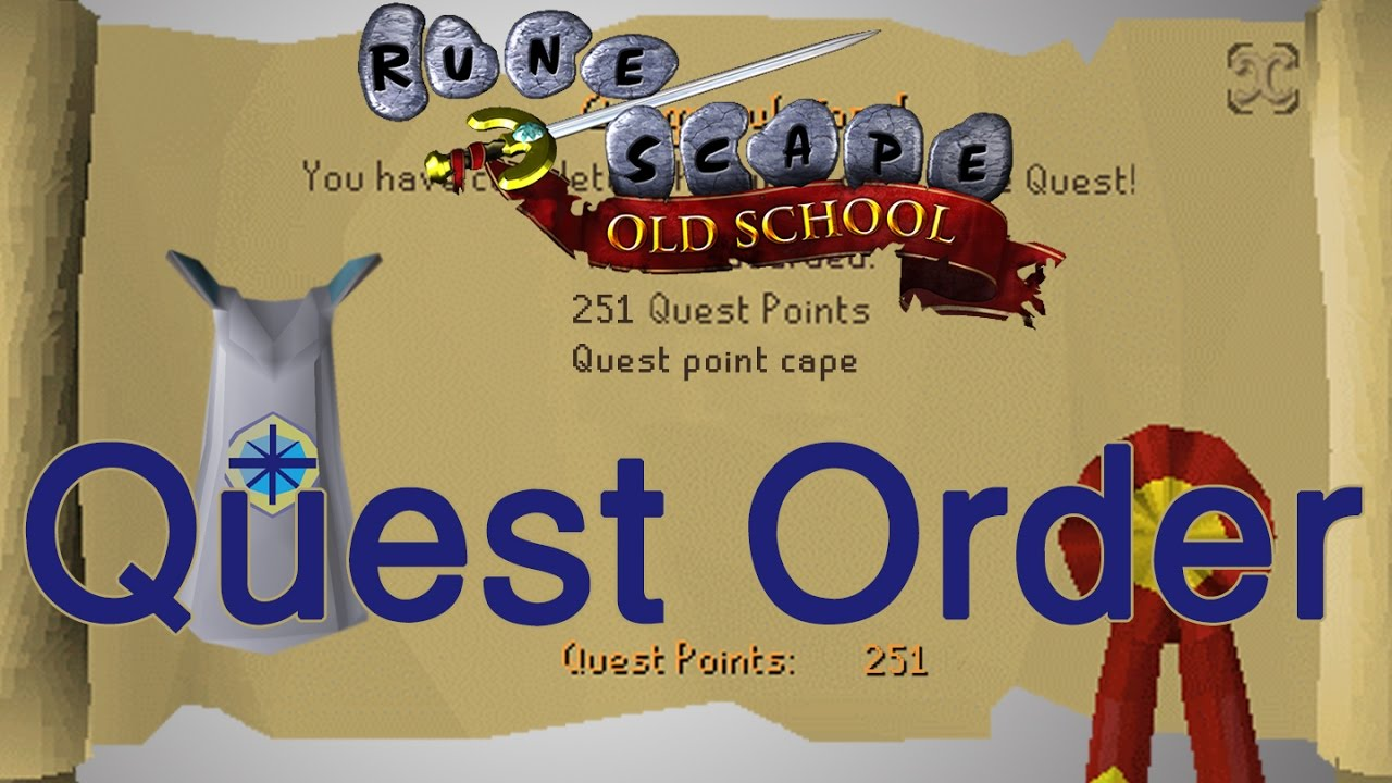 Osrs Quest Order New Link So You Can Save The File And Edit Youtube They are chained by the same story line with the same characters and. osrs quest order new link so you can save the file and edit