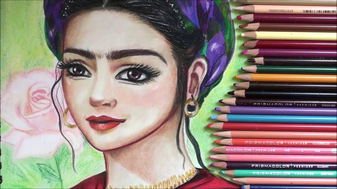 Frida Kahlo Para Dibujar: Como Dibujar A FRIDA KALO. Caricatura Estilo Disney