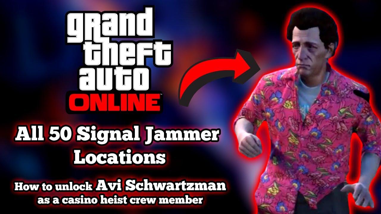 Gta online casino heist crew
