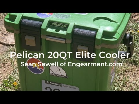 Pelican Elite 20QT Cooler Review #PelicanElite20QTCooler #PelicanEliteCooler