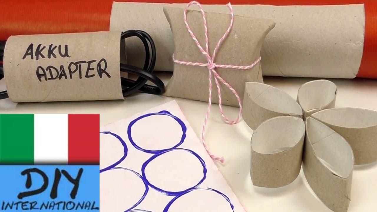 Porta Carta Igienica Originali trucchi quotidiani - rotoli di carta igienica /idee creative con i rotoli  di carta igienica