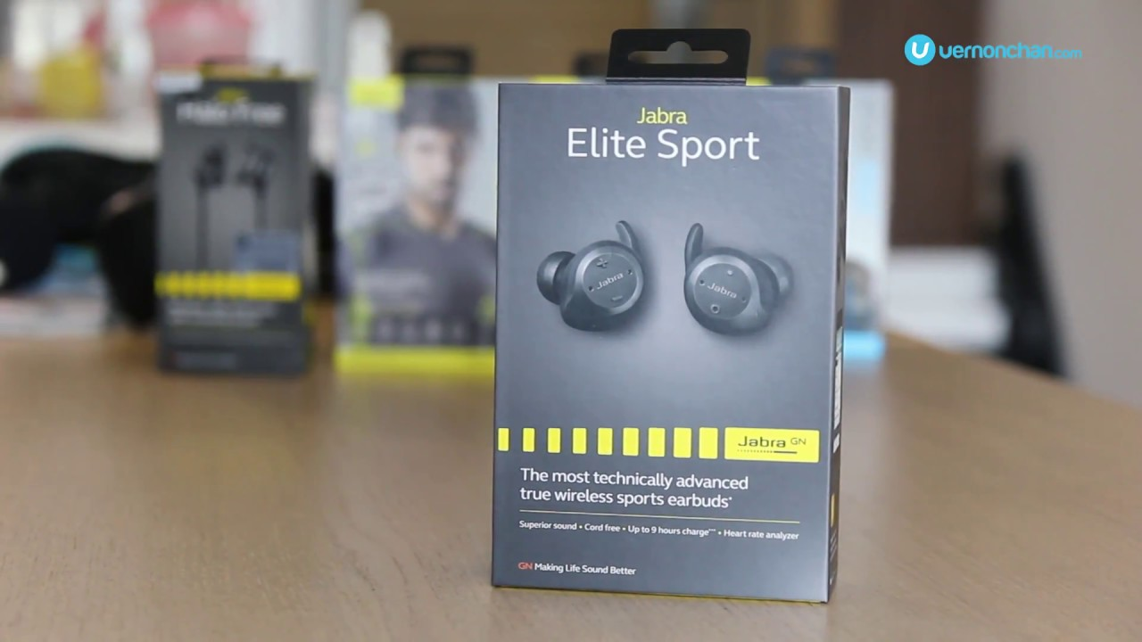 3f4ac45225d Jabra Elite Sport Unboxing - YouTube