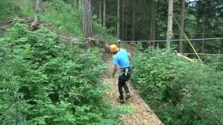 Neue Attraktion im Pitztal - der Abenteuer- und Erlebnispark Jerzens 28.07.2010