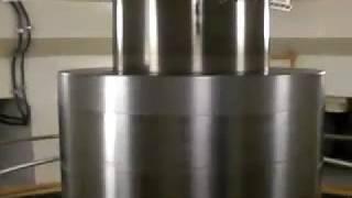 超高速回転シャフト 6回転/秒 黒部川第四発電所 黒部ルート見学