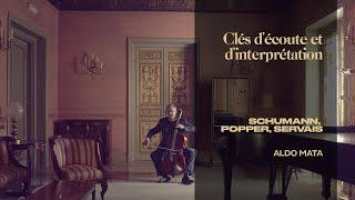 """TRAILER """"Une soirée romantique"""", David Popper Etudes, Aldo Mata violoncelle"""