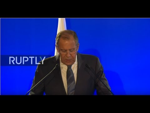 LIVE: Lavrov and French FM meet in Paris: press conference - RUSSIAN