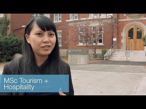 Graduate programs: MSc Tourism and Hospitality