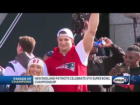 Patriots Celebrate 6th Super Bowl Title At Boston Parade