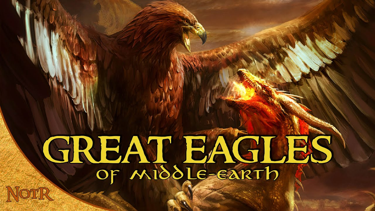 The Great Eagles of Middle-earth   Tolkien Explained