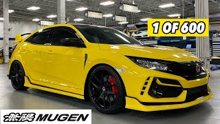 2021 Honda Civic Type-R Limited Edition | Mugen Body Kit Paint and Installation | FK8 CTR