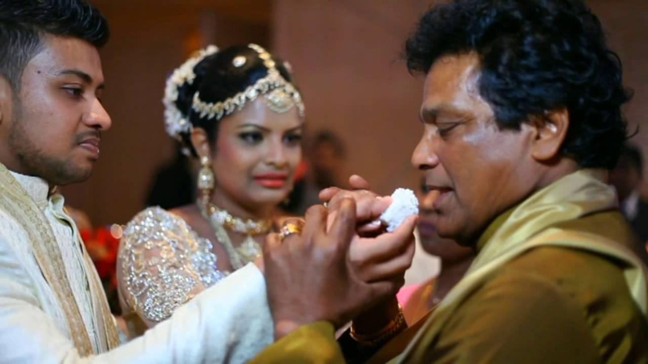 Sankani edirisinghe wedding hairstyles
