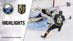 NHL Highlights | Sabres @ Golden Knights 02/28/20