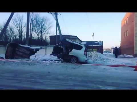 Ужасная авария в Кокшетау