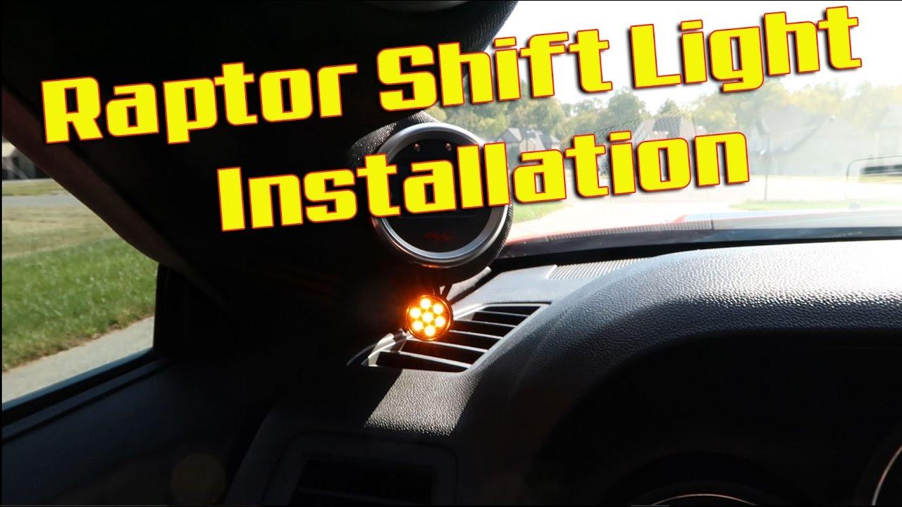 Raptor Shift Light Install Youtube Lt1 Ignition Control Module Wiring Diagram