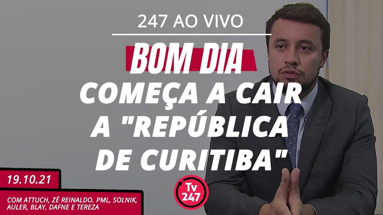 """Download Bom dia 247: começa a cair a """"República de Curitiba"""""""