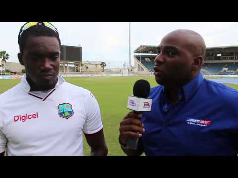 Jerome Taylor on Sir Wes 1