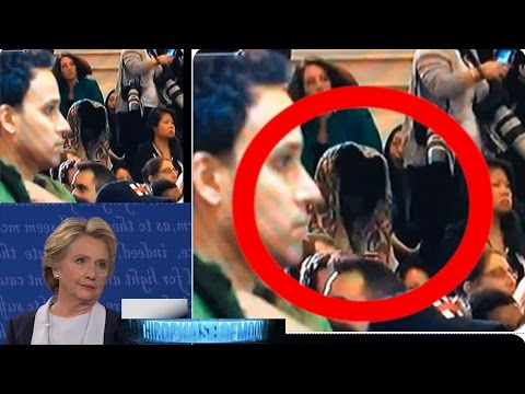 SCARY as HELL? Demonic Alien Grim Reaper At Hillary's Press Conference! UFO Video HD! 11/15/2016
