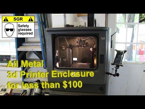 3d Printer Enclosures Part 1 - All Metal for less than $100