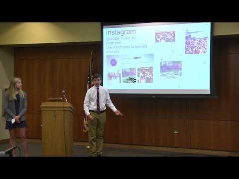 Shark Tank 11-17-2017  Part 1 - Lyons Township High School
