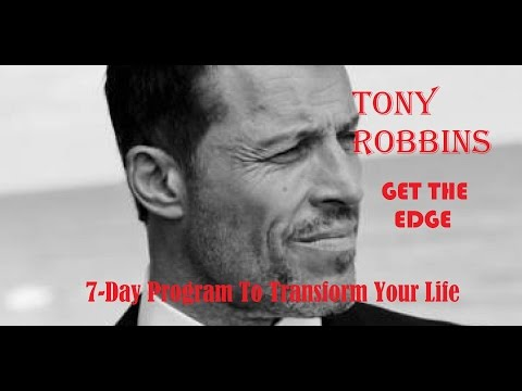 Tony Robbins Audiobook : GЕТ Тhe Edge with Anthony Robbins (Motivation,  Money,  Relationships)