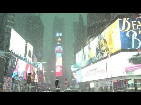 Winter storm hits northeast US