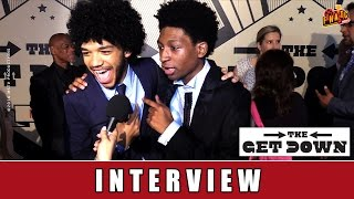 The Get Down - Interview I Justice Smith I Netflix