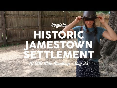 Jamestown Settlement | 10K Road Trip Vlog Day 33
