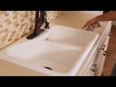 How To Caulk A Kitchen Or Bath Without A Caulking Gun