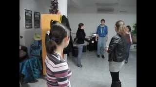 Урок по ЧА-ЧА - Разгрявка - Солидарен център Варна