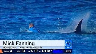 NEWS | Mick Fanning attacked by shark in surf comp.
