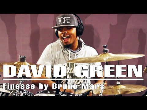 Soultone Cymbals - David Green - Finesse by Bruno Mars