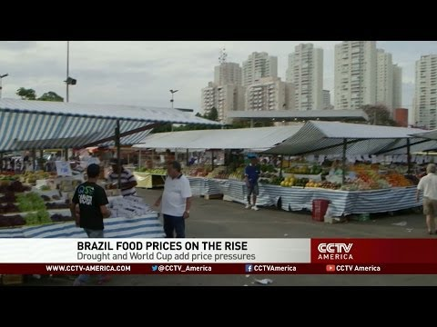 Brazil Inflation: Food Prices Surge as Drought Takes Toll