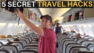 5 SECRET TRAVEL HACKS (make your life easier)