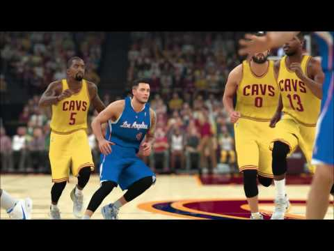 Clippers vs Cavaliers 12.1.16 #NBA2K17 #PS4