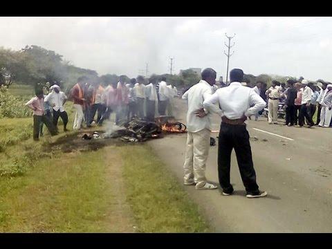 Khandwa Road Accident Bikes fire, Youngmen Burn - Tez News