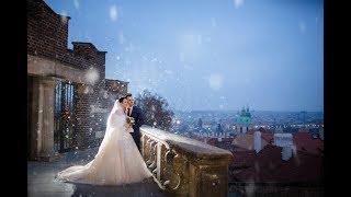 Свадьба в Праге на Рождество Натальи и Сергея