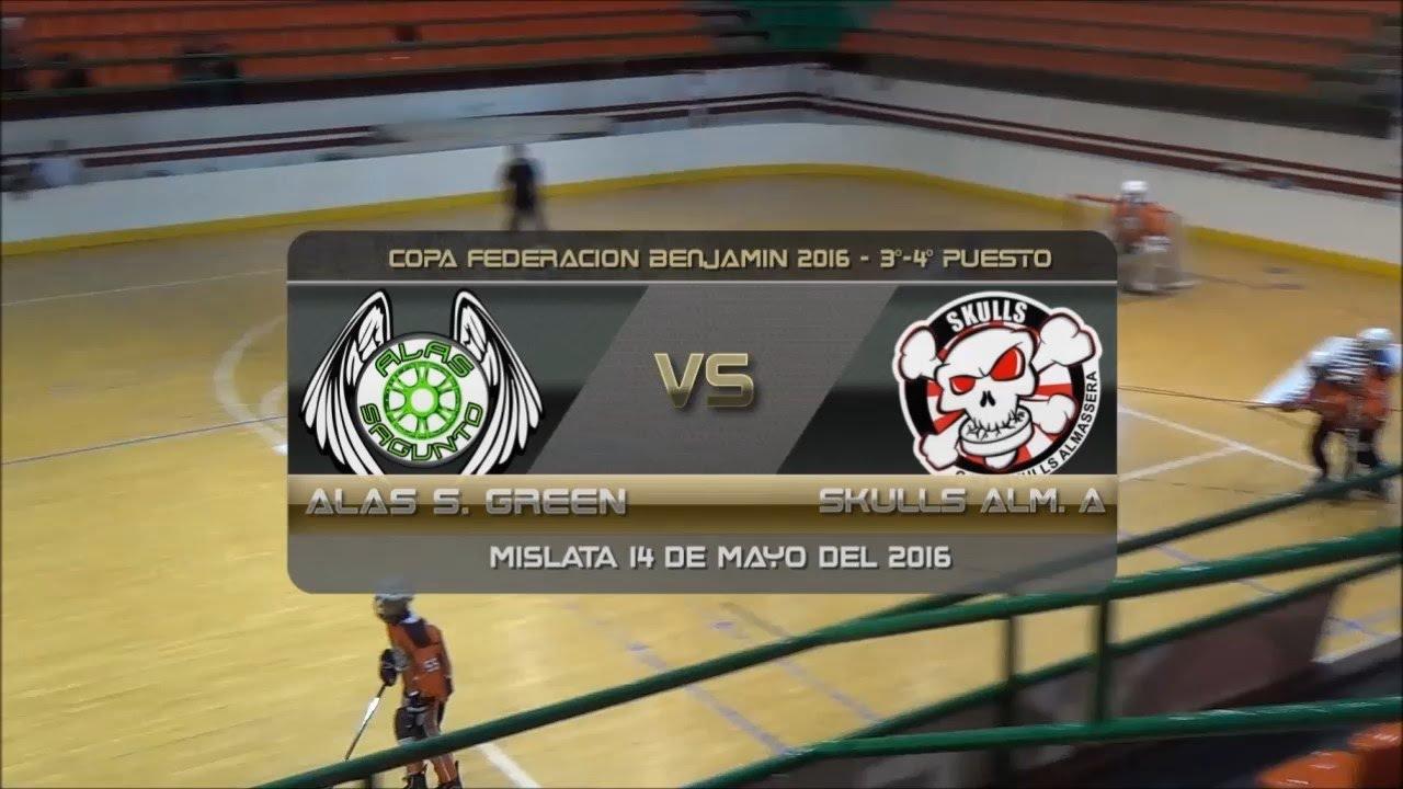 Copa Federación Benjamín Alas Sagunto Green Vs Skulls Almassera A - 3er 4º Puesto