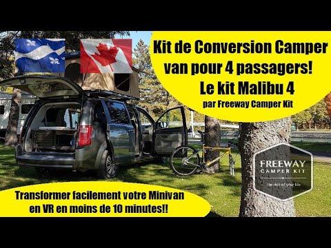 Un Survol Du Nouveau Malibu 4 De Freeway Camper Kit!