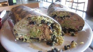 "5lb Burrito Challenge Maria's Cantina $100 ""ocho-cinco"" - Food Challenge"