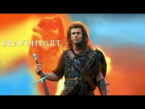 Храброе сердце - Музыка из фильма. Красивая мелодия что-бы уснуть.  Braveheart.