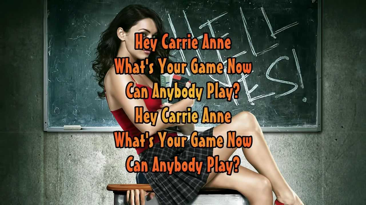 The Hollies Carrie Anne Lyrics 1080p Hd Youtube