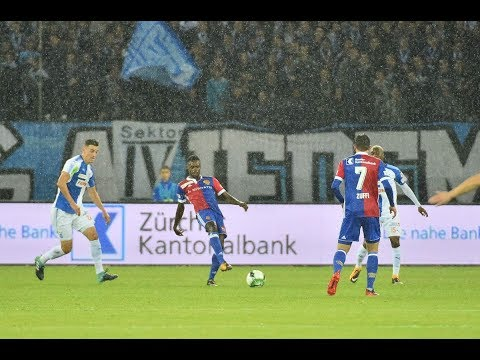 Relive: Grasshopper-Club Zürich vs. FC Basel (0:0) - 30.09.2017